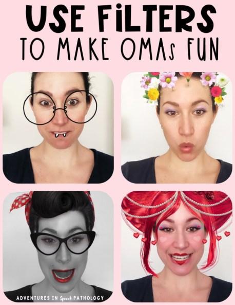 Use Filters to make OMAs fun