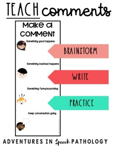 Teach comments