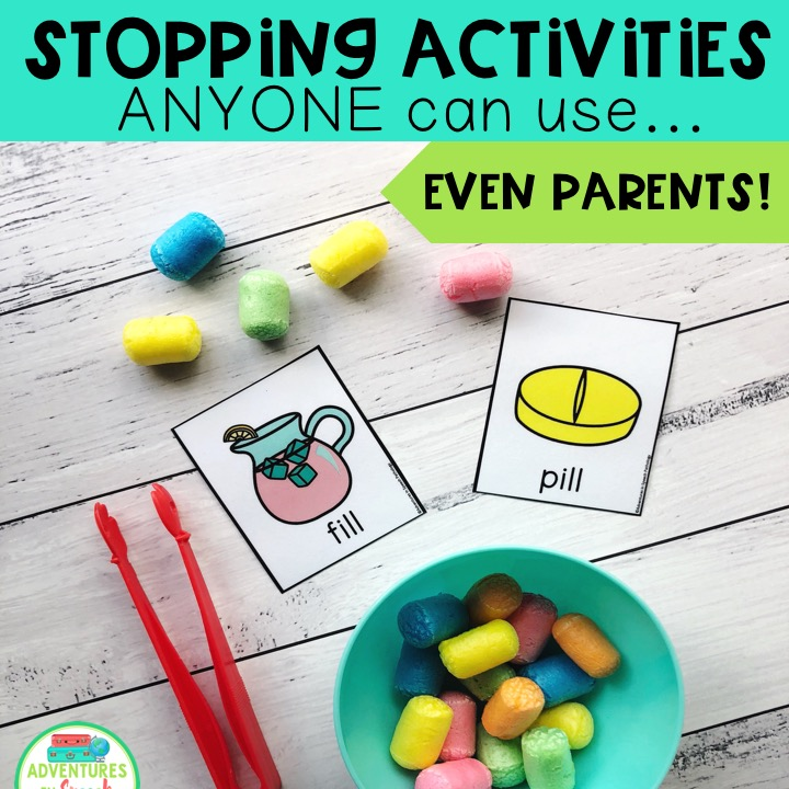 Stopping activities ANYONE can use