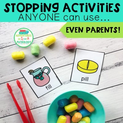 Stopping Activities ANYONE can use – even parents!