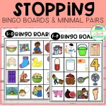 Stopping Bingo Boards