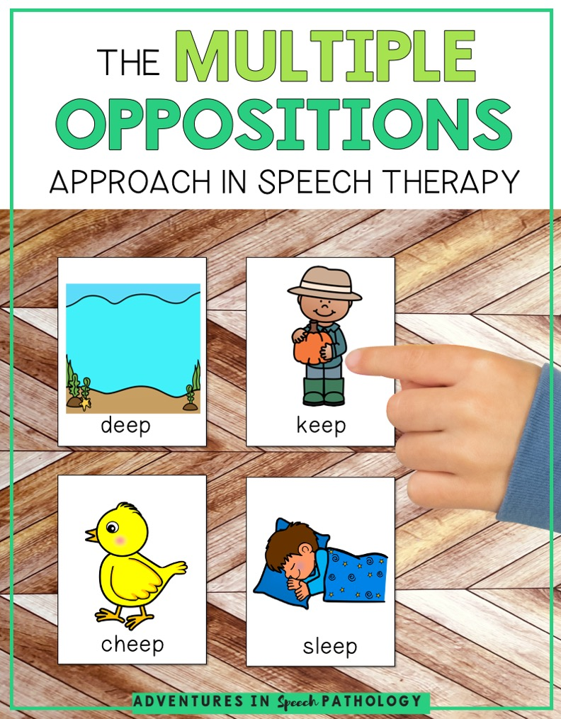Multiple Oppositions approach in speech therapy
