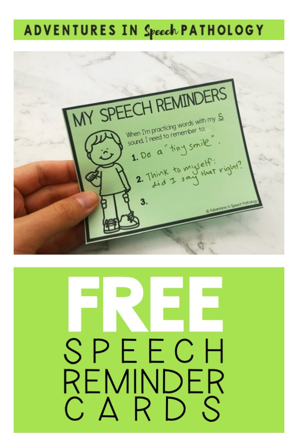 Free speech reminder cards