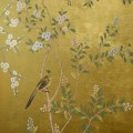 Hand painted wall paper de gournay adventures in styleland