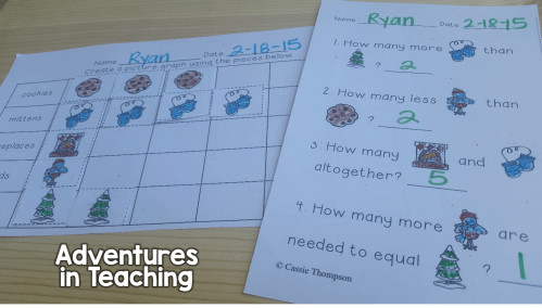 small resolution of Winter Graphing in the First Grade Classroom   Adventures in Teaching