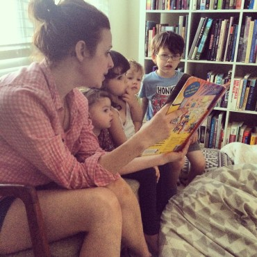End of the day storytime