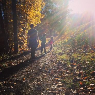 Warm, sunny autumn
