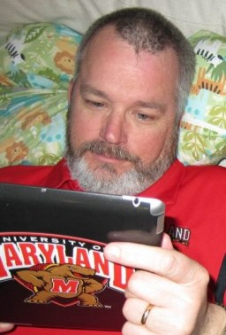 Joe with ipad