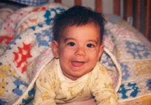 zach as baby