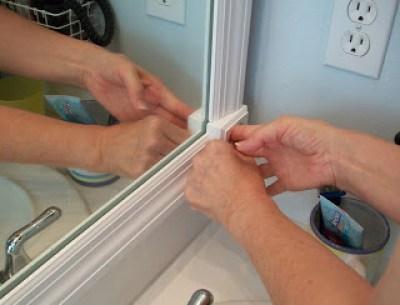 DIY Upgraded mirror