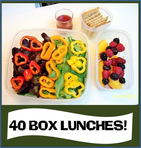 40 LUNCHES