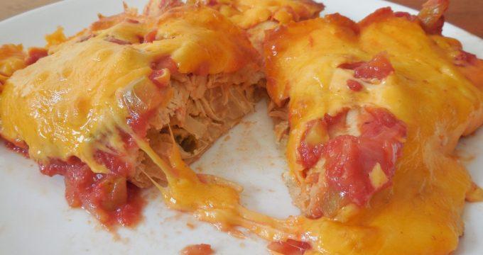 Ballpark/Yearwood Chicken Enchiladas