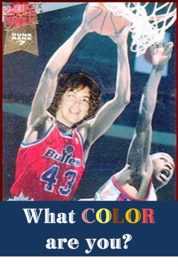 what color are you sports card
