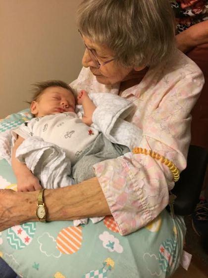 Grandma and James