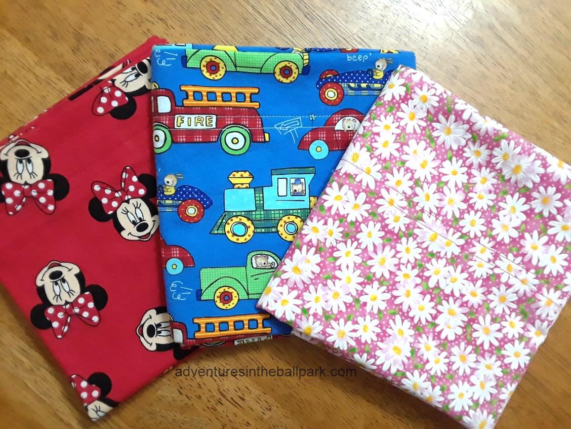 Minnie, trucks, flower pillowcases