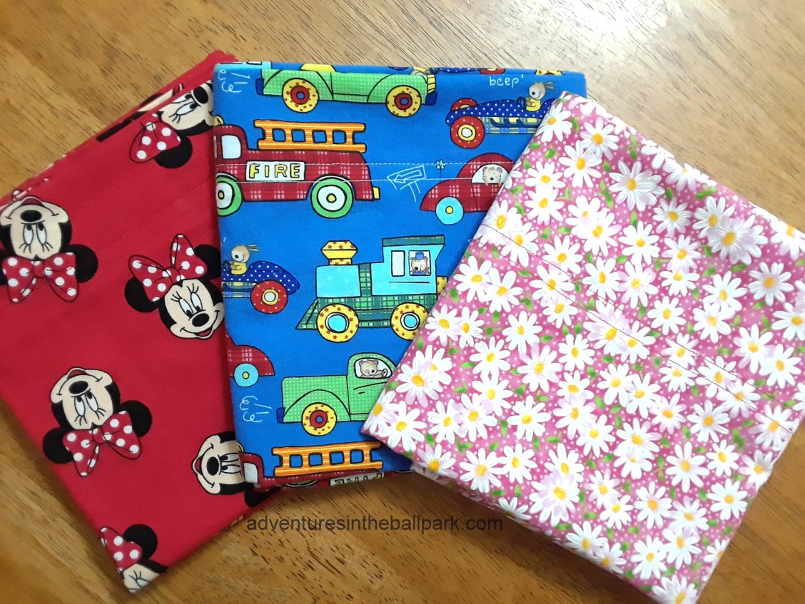 Minnie, trucks, flower pillowcases
