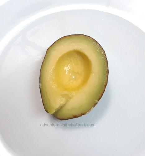 perfectly preserved avocado