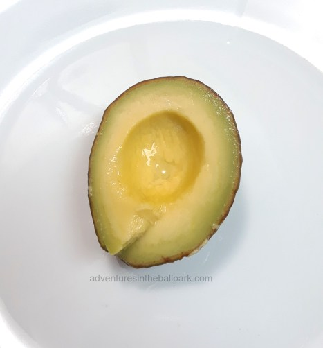 perfectly preserved avocado