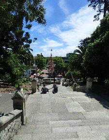 View from the Church steps