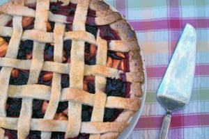 Ollalieberry Peach Pie
