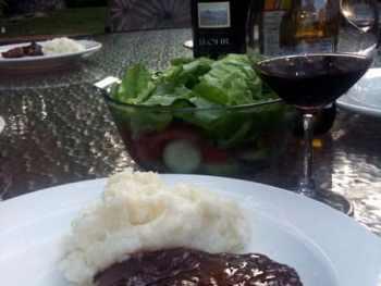 Grilled Ribeye Steak with Mesa Steak Sauce