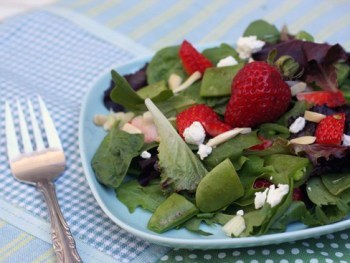 Strawberry Chopped Salad & A Giveaway