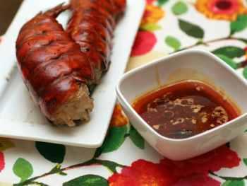 Grilled Lobster with Orange Chipotle Vinaigrette