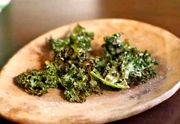 Baked Kale Chips Recipe