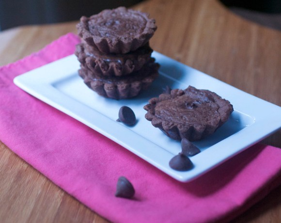 Tuesdays With Dorie: Chocolate Truffle Tarts