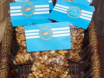 Maple bourbon bacon popcorn