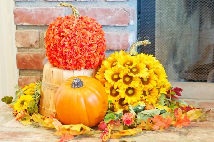 13 diy pumpkin daisies