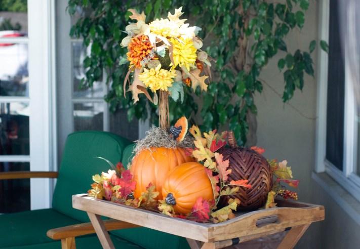 13 diy pumpkin topiary