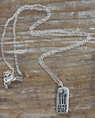 feed your soul necklace