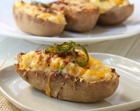 Jalapeno Twice Baked Potato
