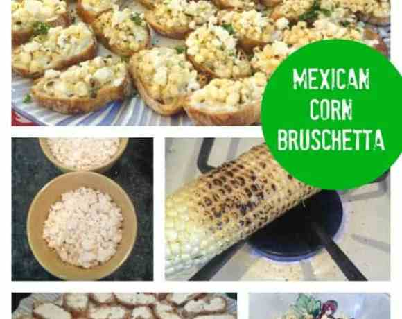 Mexican Corn Bruschetta
