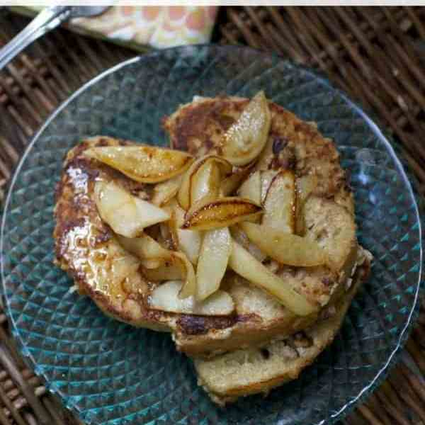 Pecan Oat French Toast