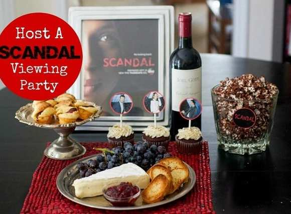 Host A Scandal Viewing Party