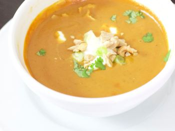 Skinny African Peanut Soup