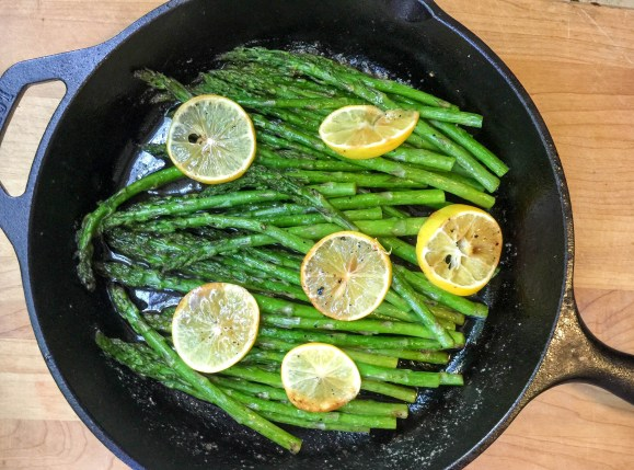 Roasted Asparagus Lemon Balsamic