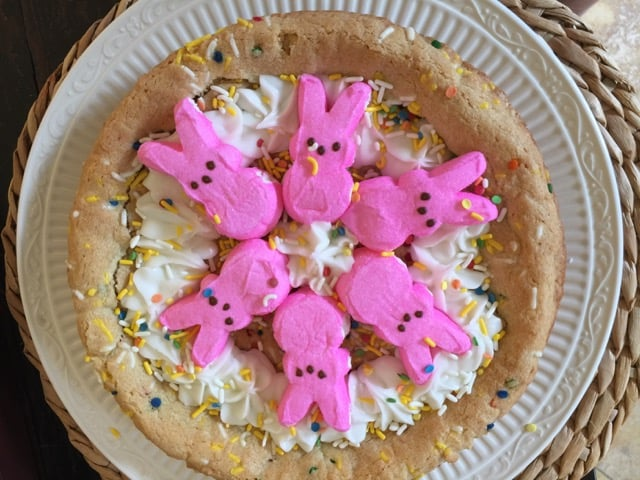Peeps Funfetti Cookie Pie