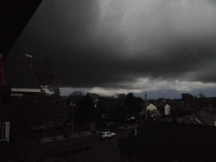 Storm a raging...