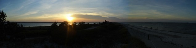 Love the Panorama over Plymouth Long Beach...