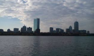Across the Charles!