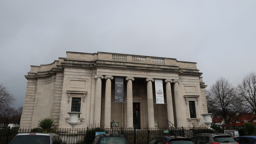 exterior of Lady Lever art gallery