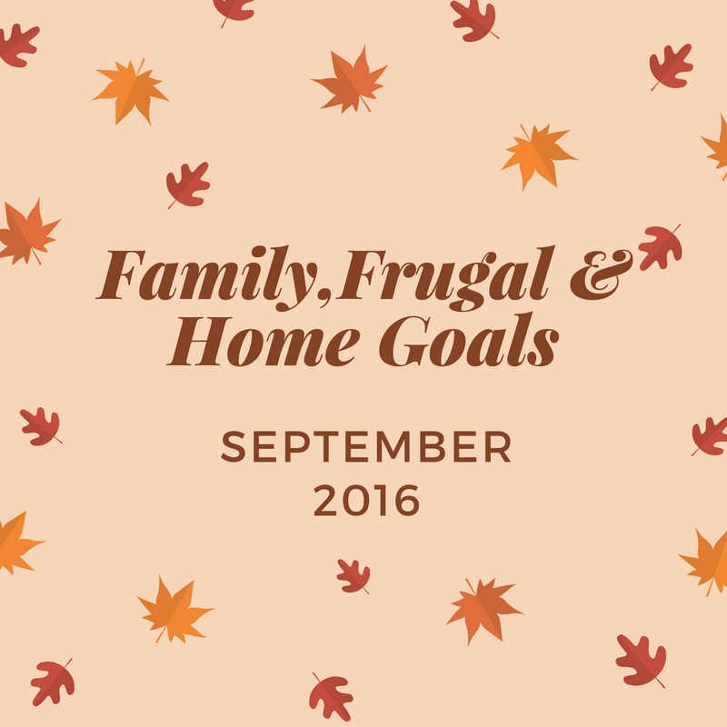 Family,Frugal & Home Goals