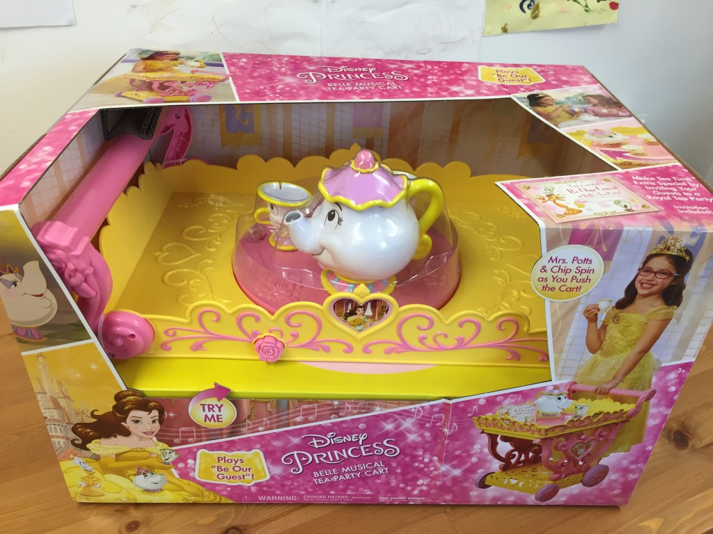 Disney Princess Belle Musical Tea Party Cart Review