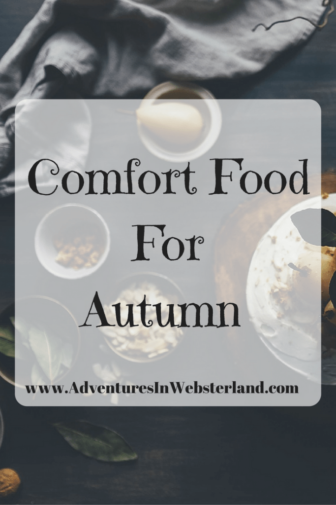 Comfort Food For Autumn