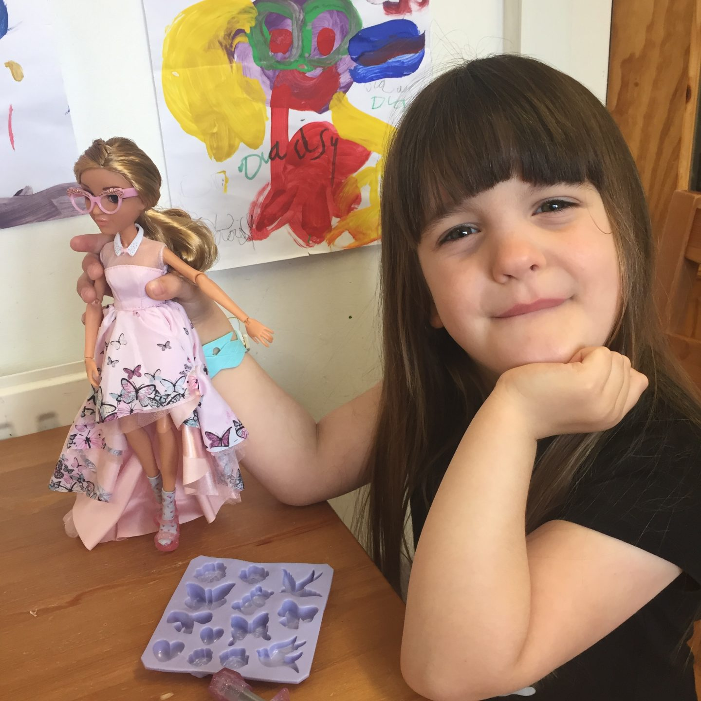 Project Mc2 Adrienne doll butterfly gown