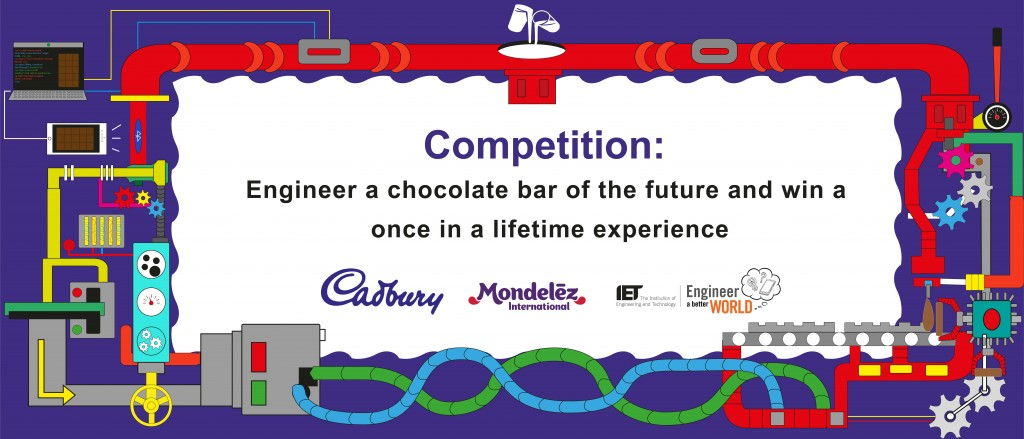 #ISeeMore Kids Competition-Engineer A Chocolate Bar Of The Future