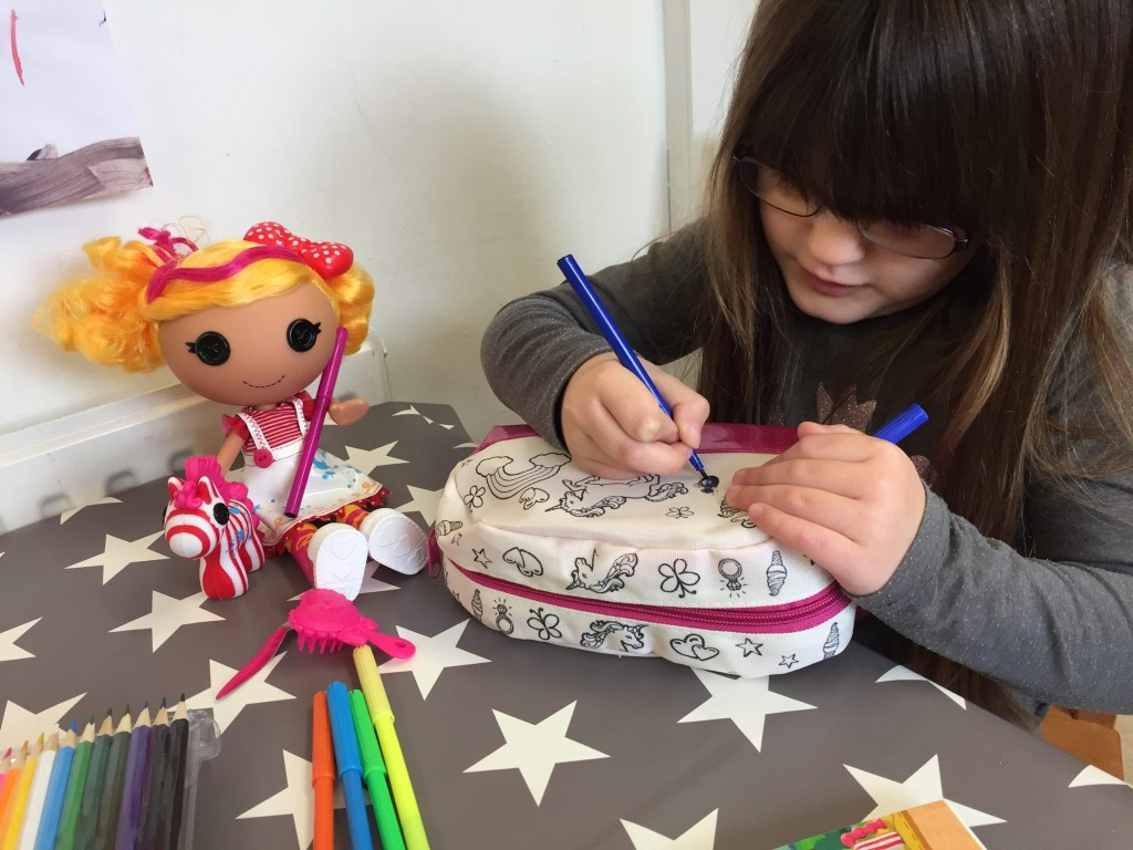 Getting Creative With Lalaloopsy Spot Splatter Splash {Review}